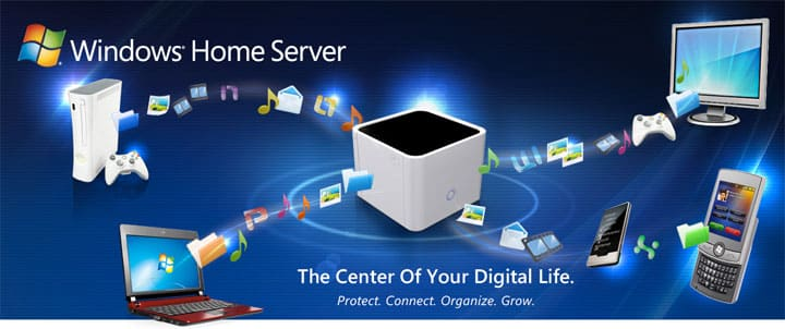 Windows Home Server VAIL
