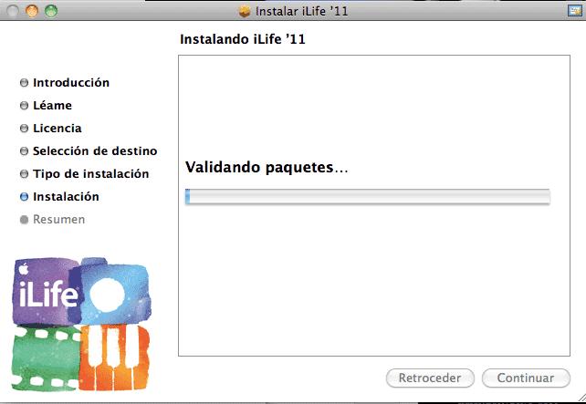 Actualización iLife09-11-8