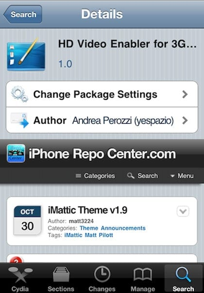HD enabler for 3GS