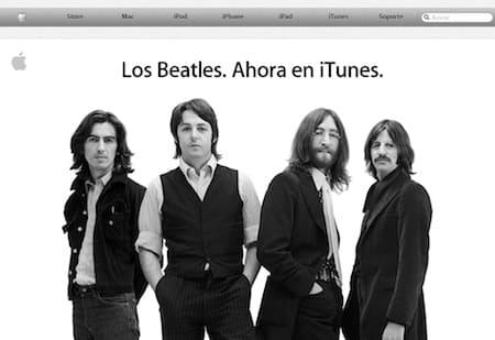 iTunes Beattles