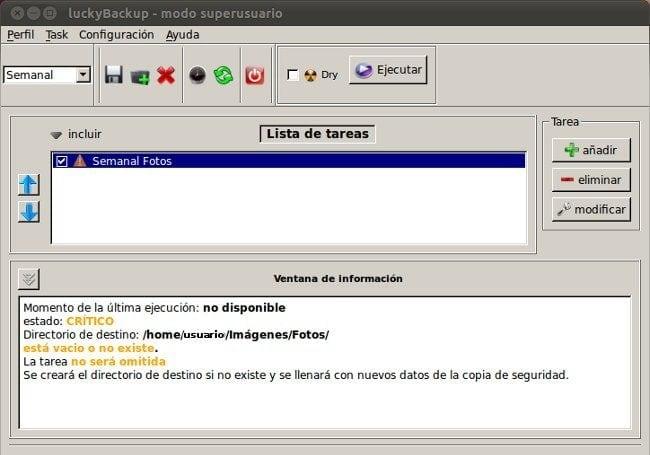 LucYBackuP - Gestor de Copias de seguridad en Linux