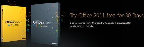 versión de prueba del office 2011 para mac