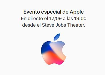 Evento Apple 12 de septiembre iPhone