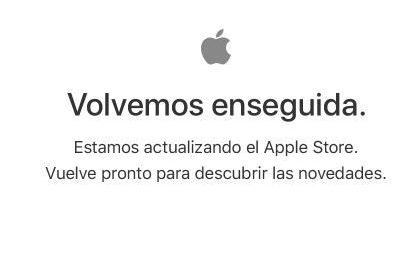 AppStore Cerrada - Volvemos en seguida