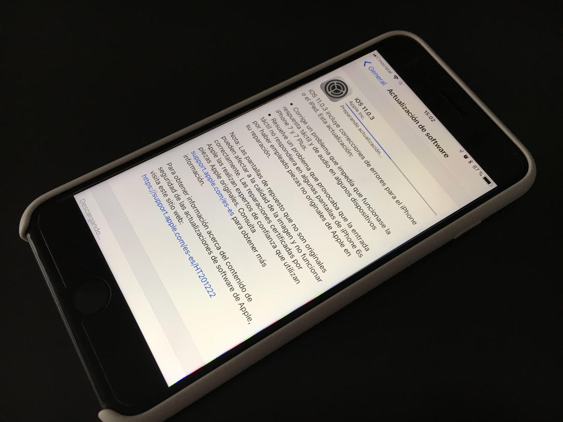 Update iOS 11.0.3