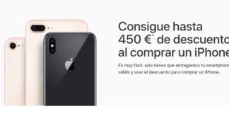 Descuento e Apple al renovar smartphone