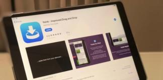 Aplicación Yoink para iOS y macOS