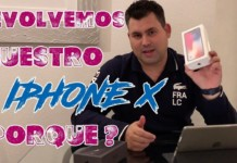Devolvemos nuestro iPhone X