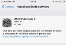 iOS 12 Beta 9 Pública