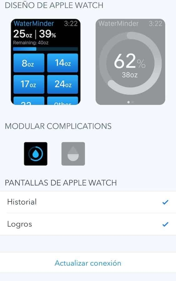 WaterMinder - Review - Apple Watch