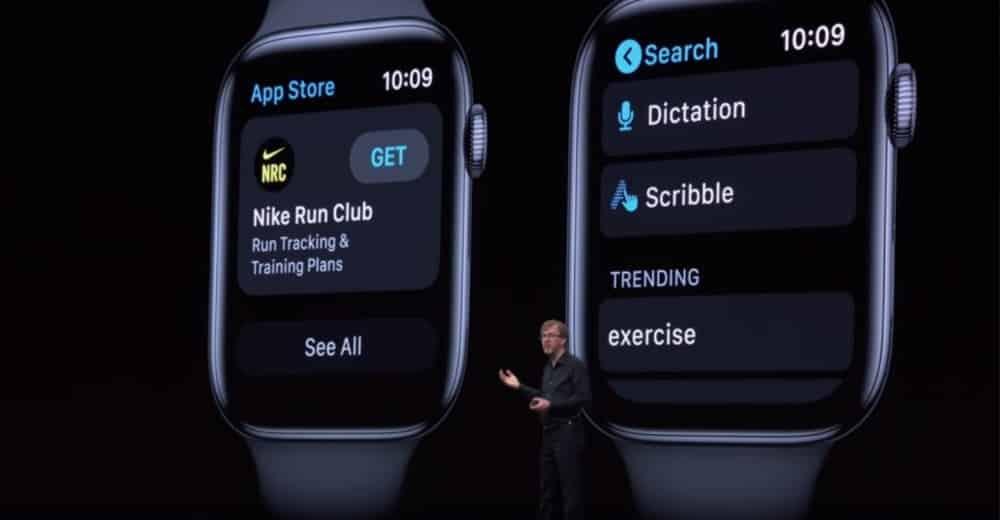 Posibilidad de descargar aplicaciones de forma independiente gracias a WatchOS 6