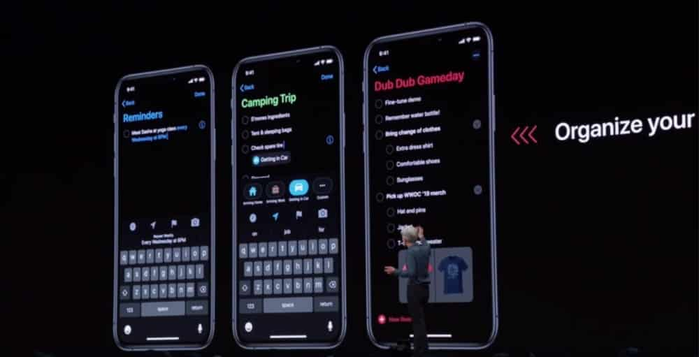 Dark Mode en iOS 13