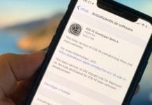 iOS 14 Developer Beta 4 mostrada en un iPhone
